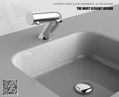 It is time to combine the faucet and soap dispenser to one machine. Our newest automat soap dispenser & faucet all-in-one machine. That's the best choice of hotel, airport, shopping mall, airport, office building, etc... #automatic liquid soap foam dispenser #touchless liquid soap dispenser #touchless soap foam dispenser #infrared liquid soap dispenser #infrared soap dispenser #infrared liquid  sanitizer