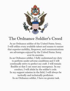NCO CREED ARMY