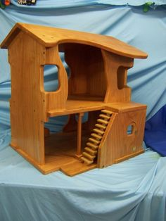 Waldorf  Style Dollhouse by weberswoods on Etsy, $275.00