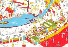 It's Nice That : Beautiful illustration and traditional printing from Benjamin Courtault