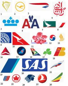 Can you name the Name the Airline Logos? Test your knowledge on this miscellaneous quiz to see how you do and compare your score to others. Quiz by Boeing 787 Dreamliner, Boeing 777, Guess The Logo, Car Brands Logos, Airplane Wallpaper, Trademark Logo, Airline Logo, Airplane Photography, Logo Branding