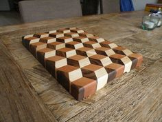 how 3D cutting boards are made a spectacular 3d effect