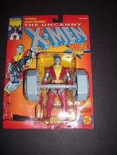 Marvel x Men Colossus Action Figure w Power Lift 1991 Toy Biz 4903 Mutant   eBay