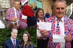 #RoyalBabyNews – Kensington Palace send Terry a birthday cake and a message.