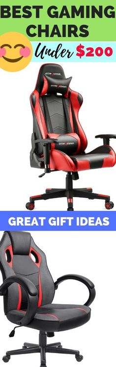 See our 8 best ergonomic gaming chairs under $200 you should get to reduce back and neck pain, leg cramps, and even carpal tunnel syndrome as you game for long hours.