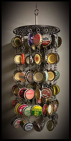 200 Assorted Bottle Top Caps Mixed upcycle shabby chic beer bottle top crafts