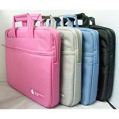 """nylon full body vanntett laptop bærbar bag for 11,6 """"13,3"""" 15,4 """"macbook air pro retina (assorterte farger) – NOK kr. 289"""