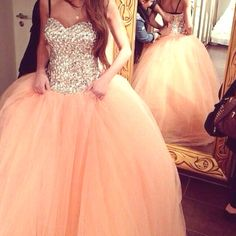 Cheap quinceanera gowns, Buy Quality coral quinceanera dresses directly from China sweet 16 dresses Suppliers: Beautiful Coral Quinceanera Dresses Popular Ball Gown Beaded Stones Sweet 16 Dresses Tulle Ruffles Puffy Quinceanera Gown Blush Pink Prom Dresses, Blush Tulle Skirt, Puffy Dresses, Princess Prom Dresses, Prom Dresses 2015, Cute Prom Dresses, Quince Dresses, Sweet 16 Dresses, 15 Dresses