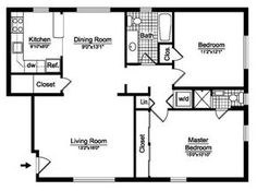 2 bedroom house plans free | two bedroom | floor plans | prestige
