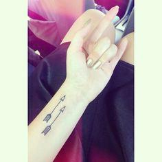 Arrow tattoo, I like two together
