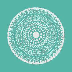 mandala, boho, pattern, hippie, style, bohostyle, scandinavian, winter, turquoise, round, ethno