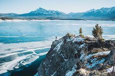I'll never take in enough. / Photo by Ashley Merta / Edit by yours truly. (abraham lake, alberta, canada. photographer: nathaniel atakora martin)