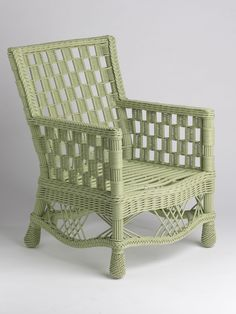 Summer Cottage Wicker Chair - Gardener's Supply Company