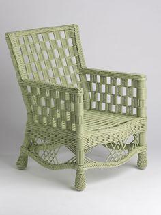 Summer Cottage Wicker Chair - Gardener's Supply Company