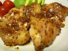 ✿鶏もも肉のハニーマスタードソースの画像