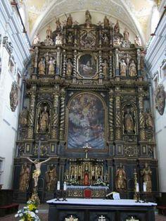 An Imposing Altar - sanctuary of the Cathedral of St. John the Baptist in Trnava, Slovakia John The Baptist, Bratislava, Capital City, Big Ben, Barcelona Cathedral, Catholic, Europe, Building, Corner