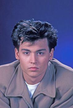 Johnny Depp as 'Officer Tom Hanson' in 21 Jump Street (1987-90, Fox)