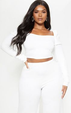 1f56e0bbcf8 44 Best crop top plus size images | Curvy girl fashion, Womens ...