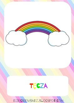 Dzieckiem bądź: Kalendarz pogody do pobrania Cartoon, Education, Kids, Crafts, Fictional Characters, Banners, Young Children, Boys, Manualidades