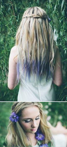 Kreide für die Haare
