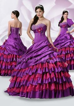 Ball Gown Sweetheart Natural Waist Satin With Crystal Sleeveless Quinceanera Dress