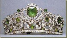 Tiara de esmeraldas de Eugenia de Montijo,España