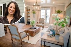 Fixer Upper star and Magnolia mogul Joanna Gaines has quickly established her rustic-vintage-farmhouse aesthetic as one to aspire to. Here are 22 of the loveliest living rooms featuring her signature warm and inviting style, with tips on how to recreate Joanna's look in your own home.