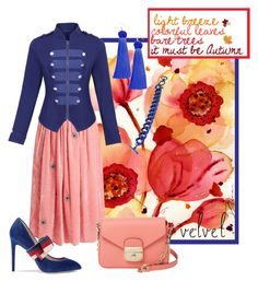 """I said to my Garden: ""Don't Go!"" but it left anyway..."" by shoppe23 ❤ liked on Polyvore featuring Jupe By Jackie, Gucci, Vanessa Mooney and Longchamp"