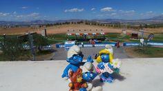 I Puffi al Mondiale di Tiro a volo e tiro a segno a Granada settembre 2014