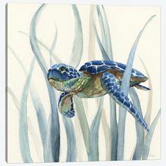 Sea Turtle Painting, Sea Turtle Art, Sea Turtles, Rock Painting, Canvas Artwork, Canvas Frame, Canvas Prints, Turtle Sketch, Turtle Swimming