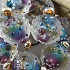 Magma Beads ~Treasure~ Handmade Lampwork Beads.