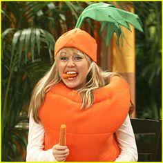 Hannah is a...carrot?