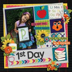 Layout by CTM Cassie using (Rock The School} Digital Scrapbook Kit by Aprilisa Designs http://www.gottapixel.net/store/manufacturers.php?manufacturerid=135 #digiscrap #digitalscrapbooking #aprilisadesigns #rocktheschool