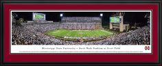 This Mississippi State Bulldogs Panoramic - Davis Wade Stadium Picture was taken by Blakeway Worldwide Panoramas and is available in many different formats!