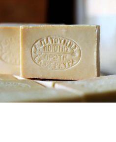 Άσπρο σαπούνι ελαιολάδου Πατούνης 100gr