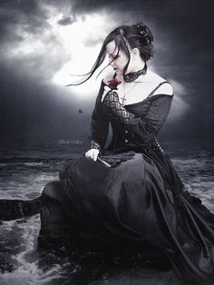 Gothic jewelry, Goth fashion, Gothic shoes, Goth shoes, Steampunk clothing LINK IN OUR BIO! Dark Gothic Art, Gothic Artwork, Gothic Wallpaper, Gothic Fantasy Art, Dark Fantasy, Dark Art, Dark Beauty, Gothic Beauty, Gothic Images