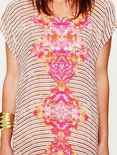 FP Ethnic Diamonds Dress