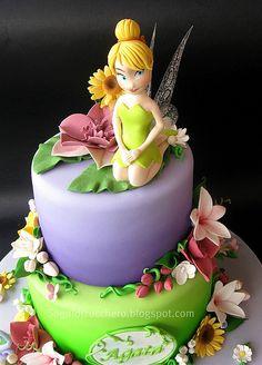 """Tinkerbell cake) """"agata"""" , hihihi"""
