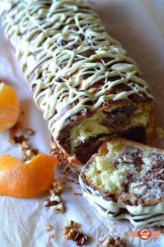 Chec cu nuci si ciocolata alba | Prăjiturici și altele Sweets Recipes, No Bake Desserts, Easy Desserts, Cake Recipes, Cooking Recipes, Romanian Food, Xmas Food, Loaf Cake, Sweet Tarts