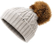 2a0cc9c117b The North Face Women s Oh-Mega Fur Pom Beanie