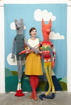 DIY Giant Dolls - Donna Wilson
