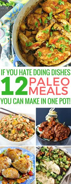 Loving these one pot paleo meals - I hate doing dishes! Thanks for sharing!