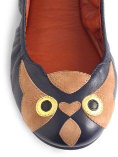 Marc Jacobs Owl Ballet Flats