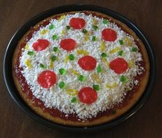 Make a cake look like a pizza. | 21 Totally Sneaky Food Pranks For April Fools' Day