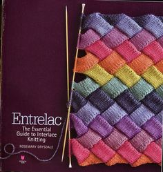 Entrelac instructions.