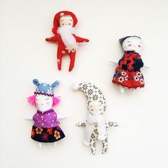 little dolls by modflowers