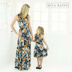 These floral maxi dresses are all the rage! Order yours today from Mila Raine! Floral Maxi Dress, Maxi Dresses, My Mom, My Outfit, Rain, Summer Dresses, Outfits, Clothes, Fashion