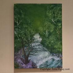 Acrylic on canvas. Anna, Artist, Painting, Artists, Painting Art, Paintings, Painted Canvas, Drawings