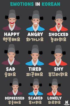 한국어를 배워 봅시다. Learn Basic Korean, How To Speak Korean, Korean Words Learning, Japanese Language Learning, Learning Spanish, Korean Phrases, Japanese Phrases, Learn Korean Alphabet, Korean Lessons
