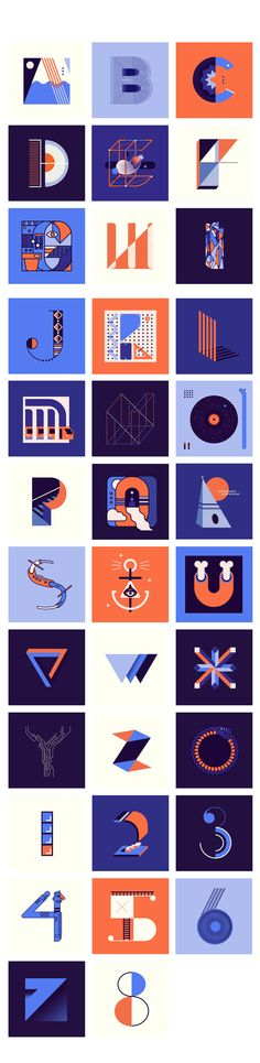 36 DAYS OF TYPE / WIP on Behance
